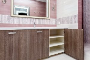 Senso Design Custom Washroom Cabinets