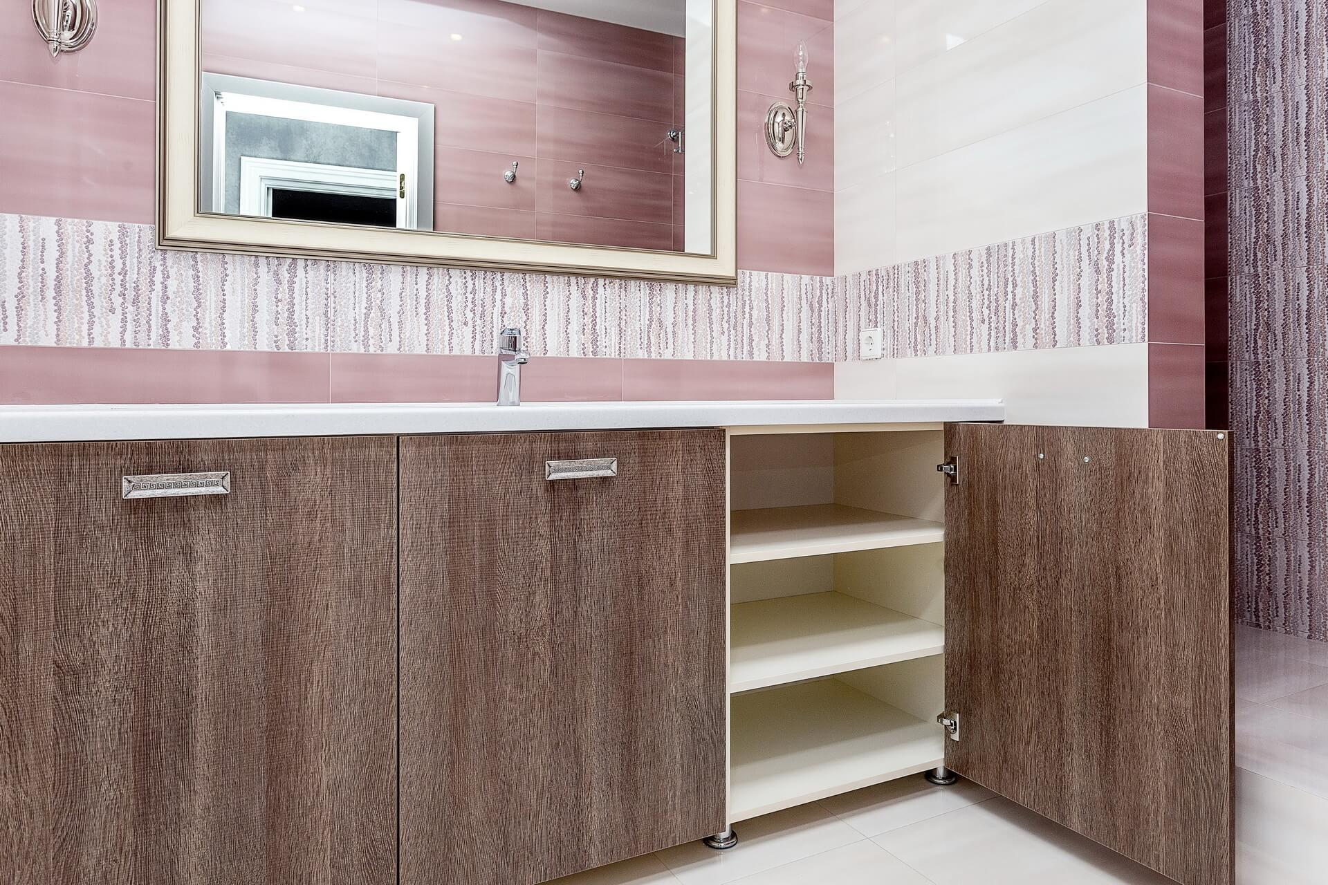 Senso Design Custom Washroom Cabinets