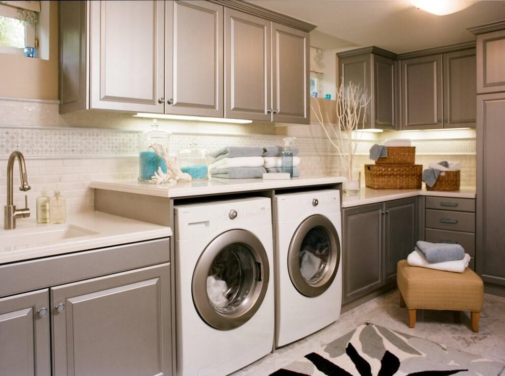 Senso Design Custom Laundry Room