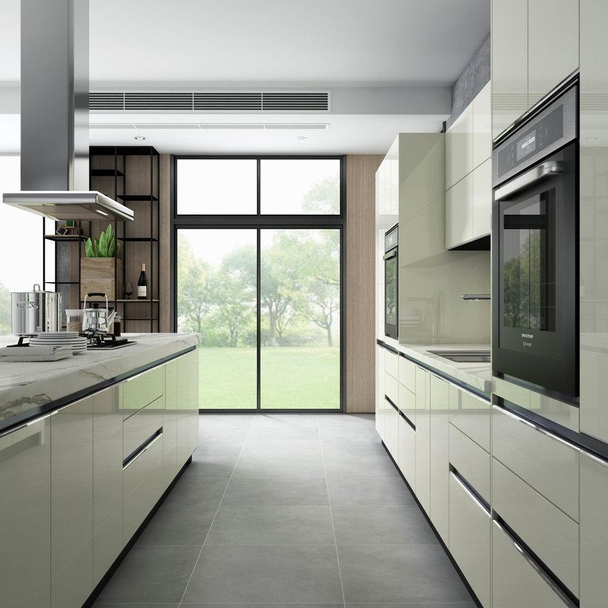 Clean looking kitchen