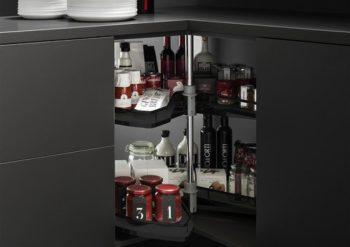 Super Susan corner cabinet fitment