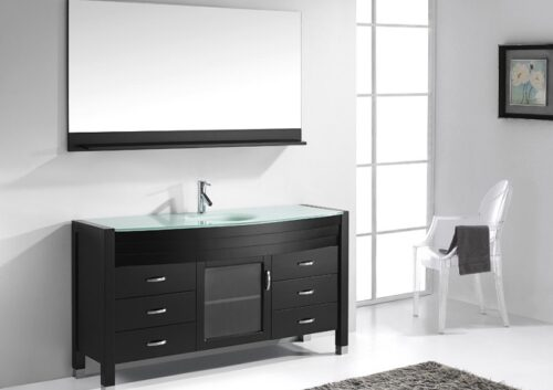Agate 55 Inch Espresso Vanity