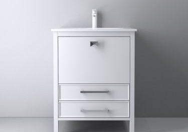 Ara 24 Inch White Vanity
