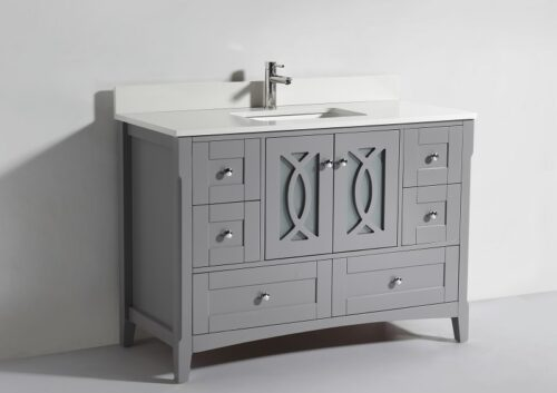 Heather 48 Inch Cashmere Grey Vanity