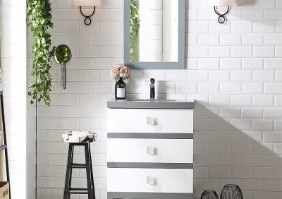 Honeysuckle 24 Inch White Vanity