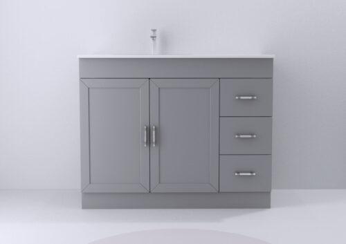 Plum 42 Inch Grey Vanity