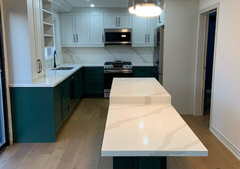Maple Kitchen Renovation